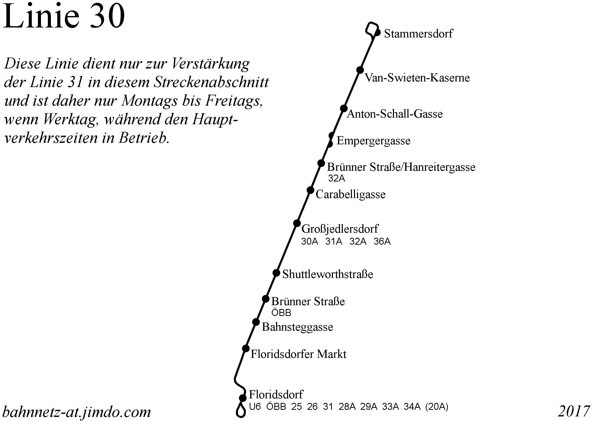 Straßenbahn Linienführungen In Wien Bahnnetz österreich Bahnnetz